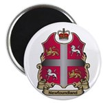 Newfoundland Shield Magnet
