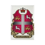 Newfoundland Shield Rectangle Magnet (10 pack)