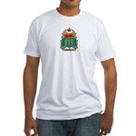Saskatchewan Shield Fitted T-Shirt