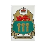 Saskatchewan Shield Rectangle Magnet (100 pack)