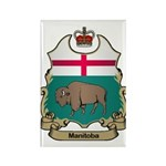 Manitoba Shield Rectangle Magnet (10 pack)
