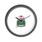 Manitoba Shield Wall Clock