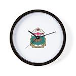Manitoba Shield Wall Clock