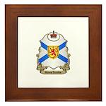 Nova Scotia Shield Framed Tile