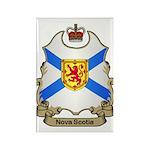 Nova Scotia Shield Rectangle Magnet (100 pack)
