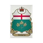 Ontario Shield Rectangle Magnet