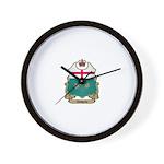 Ontario Shield Wall Clock
