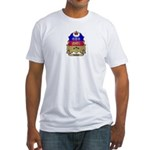 Quebec Shield Fitted T-Shirt