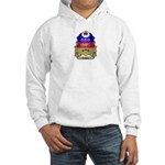 Quebec Shield Hooded Sweatshirt