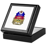 Quebec Shield Keepsake Box