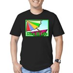 Travel Club Men's Fitted T-Shirt (dark)