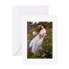 Unique Waterhouse Greeting Card