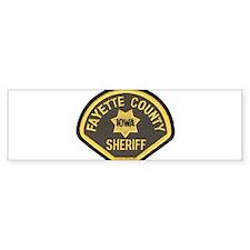 Fayette County Sheriff Bumper Sticker