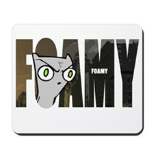 Foamy (Name Design) Mousepad