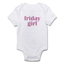 friday girl Infant Creeper