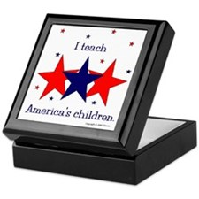 """America's Children"" Keepsake Box"