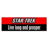 Live Long and Prosper Car Sticker
