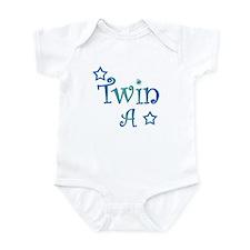 Twin A Blue Green Infant Bodysuit