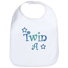 Twin A Blue Green Bib