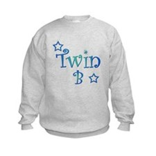 Twin B Blue and Green Sweatshirt