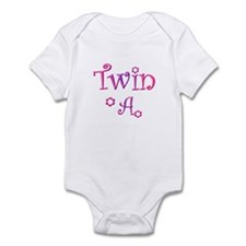Twin A Purple Pink Infant Bodysuit