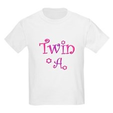 Twin A Purple Pink T-Shirt