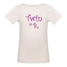 Twin B purple and pink Tee