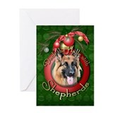Christmas - Deck the Halls - Shepherds Greeting Ca