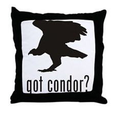 Condor Throw Pillow