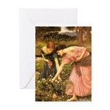 Cute Waterhouse Greeting Card