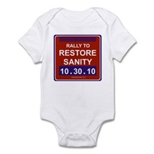 Rally to restore sanity Infant Bodysuit