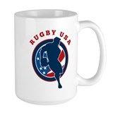 Rugby USA Coffee Mug