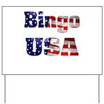 Bingo USA Yard Sign
