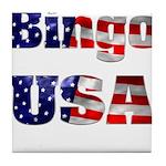 Bingo USA Tile Coaster