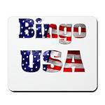 Bingo USA Mousepad