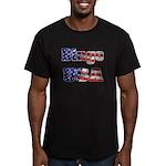 Bingo USA Men's Fitted T-Shirt (dark)