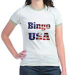 Bingo USA Jr. Ringer T-Shirt
