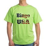 Bingo USA Green T-Shirt