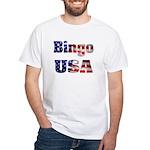 Bingo USA White T-Shirt