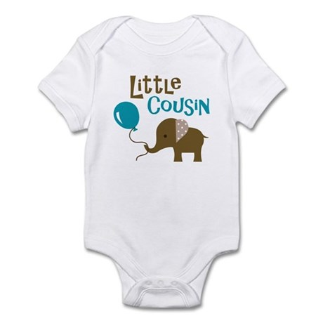 Little Cousin - Mod Elephant Infant Bodysuit