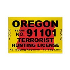 Oregon Rectangle Magnet (100 pack)