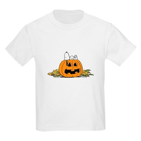 Pumpkin Patch Lounger Kids Light T-Shirt