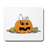 Pumpkin Patch Lounger Mousepad