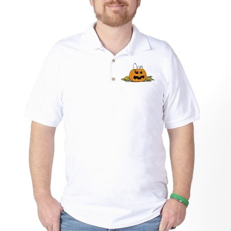 Pumpkin Patch Lounger Golf Shirt