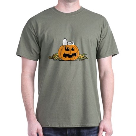 Pumpkin Patch Lounger Dark T-Shirt