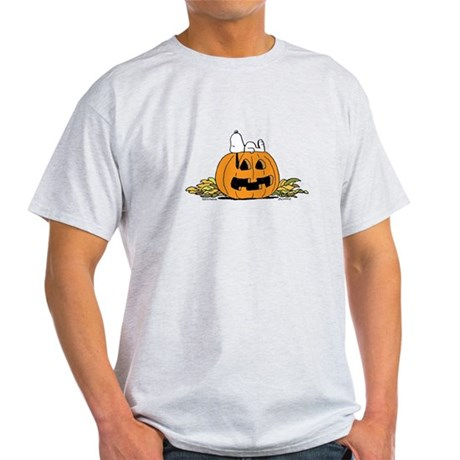Pumpkin Patch Lounger Light T-Shirt