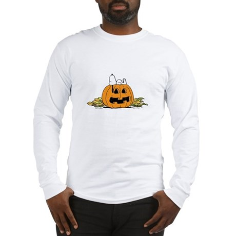 Pumpkin Patch Lounger Long Sleeve T-Shirt