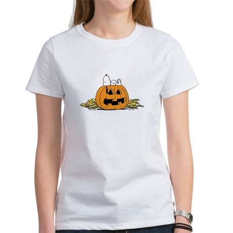 Pumpkin Patch Lounger Women's T-Shirt