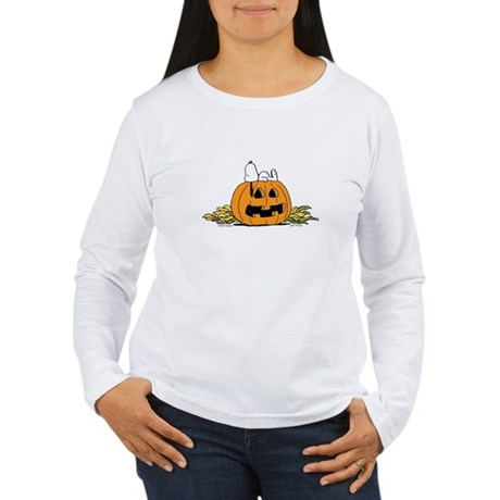 Pumpkin Patch Lounger Women's Long Sleeve T-Shirt