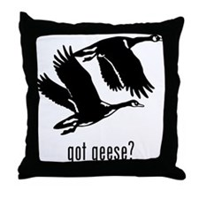 Geese 2 Throw Pillow
